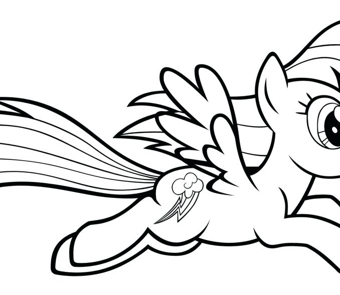 678x587 Rainbow Dash Coloring Games My Little Pony Coloring Pages Rainbow
