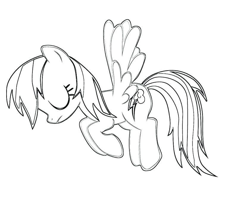 800x667 Top Rainbow Dash Coloring Page New Pages Best For Kids Color My