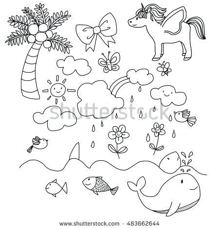 450x470 Unicorn Rainbow Coloring Pages Top Unicorn Coloring Pages