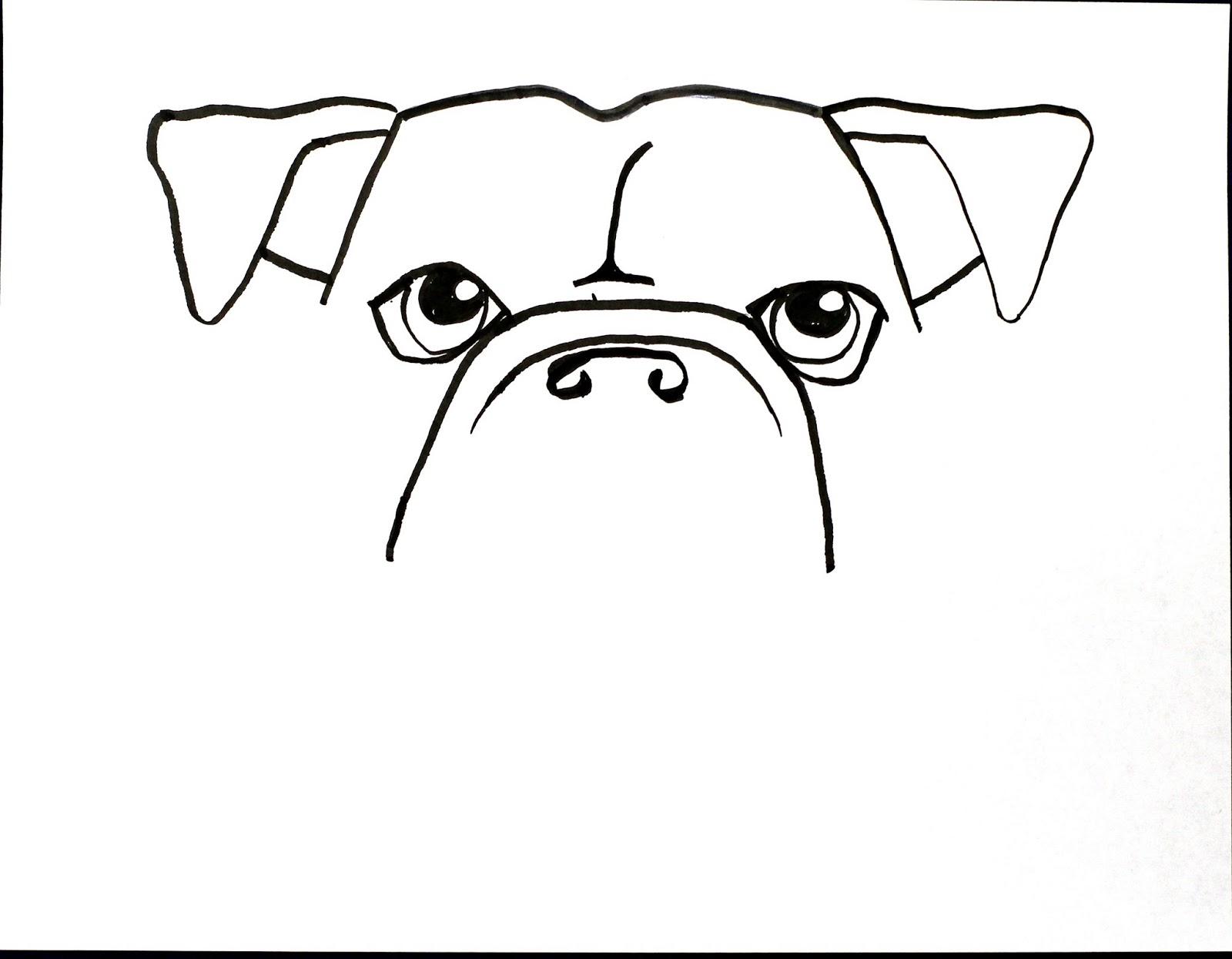 1600x1245 Smart Class Bull Dog Draw A Long