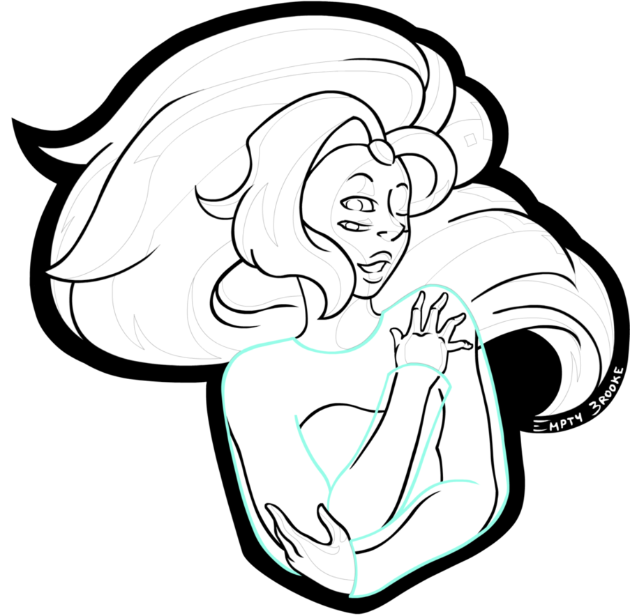 903x884 Rainbow Quartz (No Colour) [Key Chain] By Empty Brooke