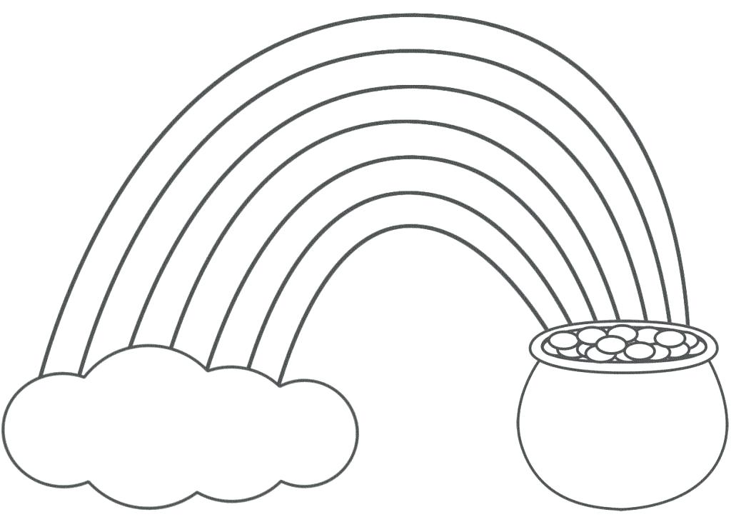 1024x724 Rainbow Coloring Pages Free Printable