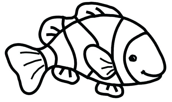 600x355 Awesome Printable Fish Coloring Pages Or Recent Posts 63 Printable