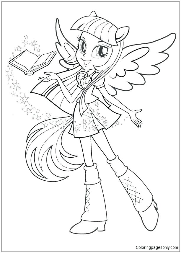613x857 Coloring Pages My Little Pony Equestria My Little Pony Girls