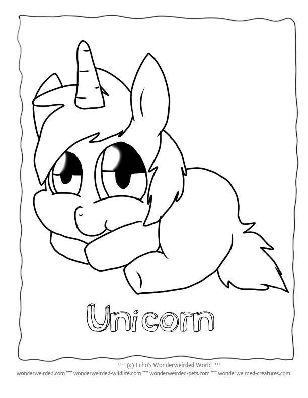 Rainbow Unicorn Drawing