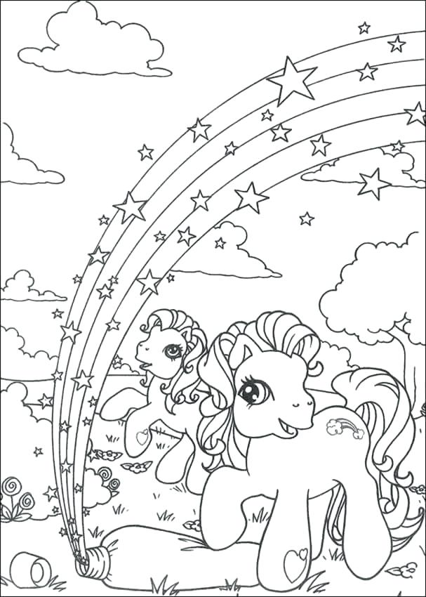 Rainbow Unicorn Drawing At Getdrawings Com Free For