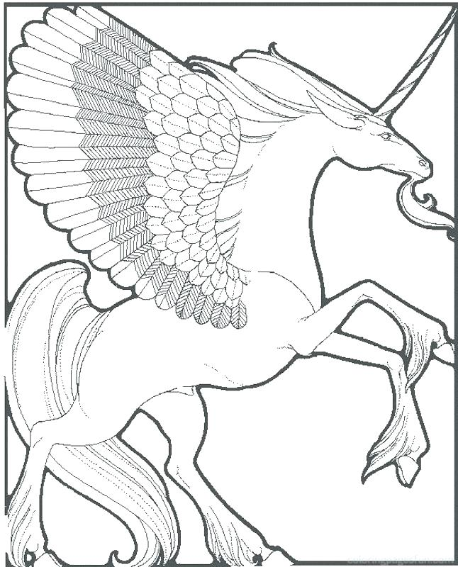 Rainbow Unicorn Drawing At Getdrawings Com Free For Personal Use