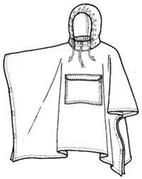 Raincoat Drawing
