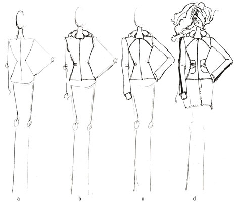465x400 How To Draw Spring Jackets