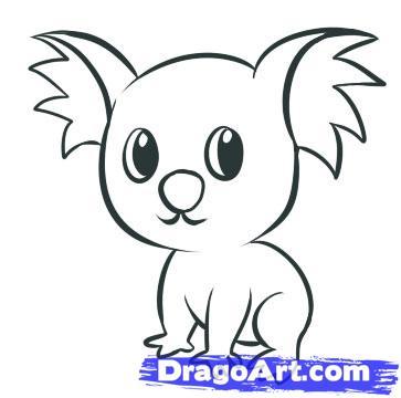 363x360 Cartoon Animal Drawings Group