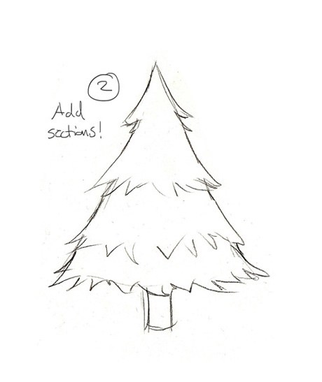 460x547 Easy To Draw Christmas Drawings Merry Christmas And Happy New