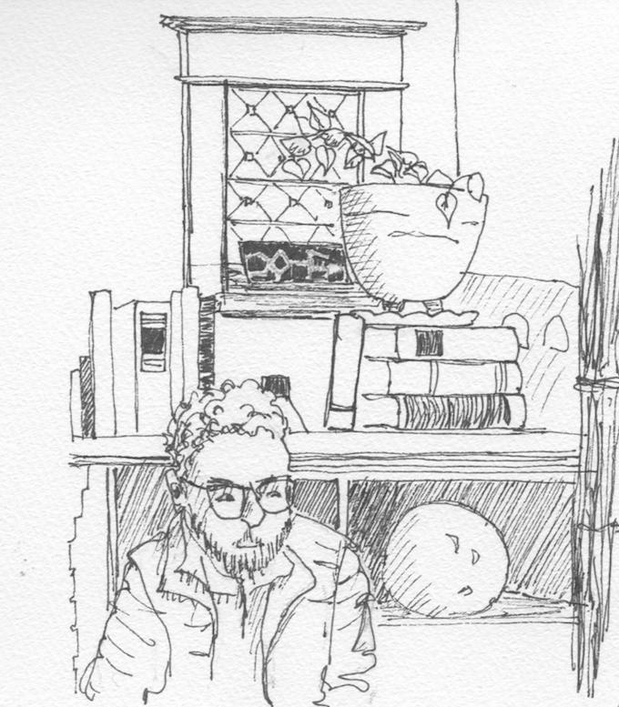 680x777 Urban Sketchers Portland A Rainy Day Sketching