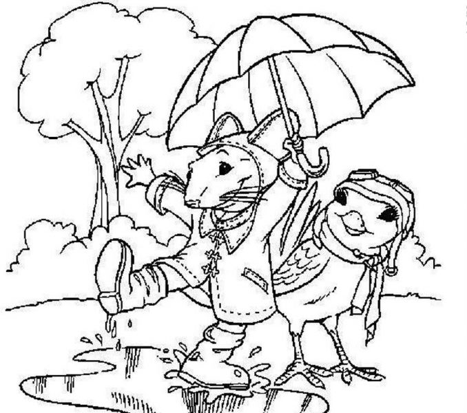 678x600 Draw Rainy Day Coloring Pages 25 For Your Gallery Coloring Ideas