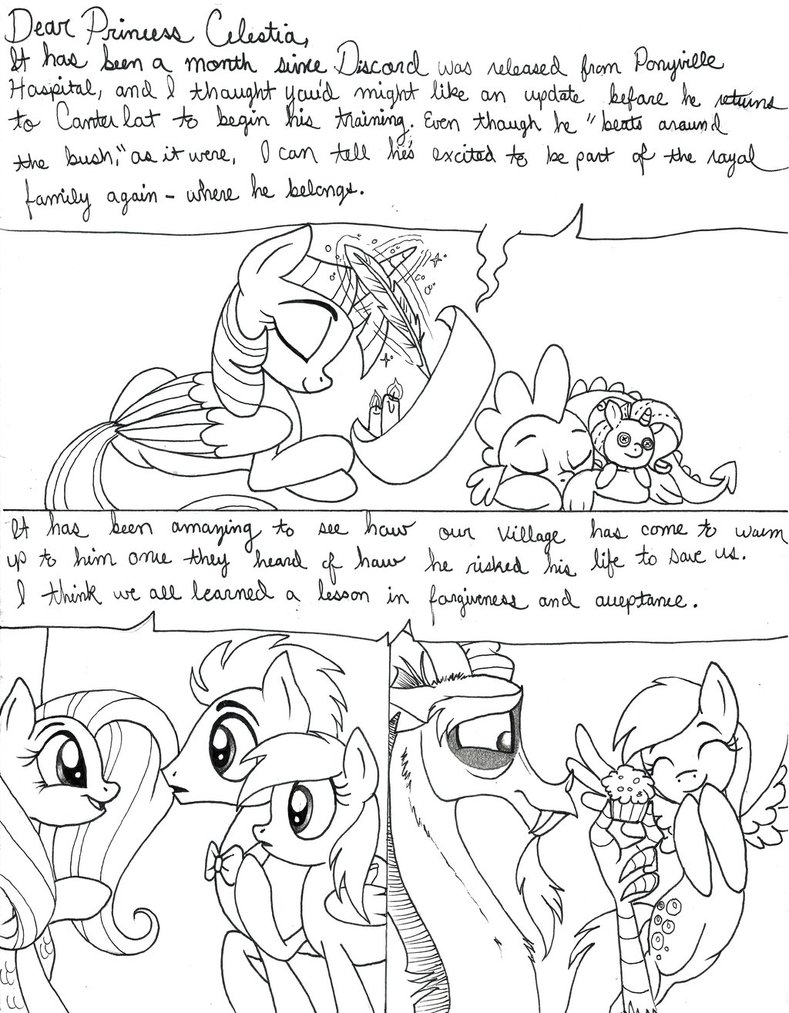 789x1013 Heart Of The Draconequus Page 234 By Celestial Rainstorm