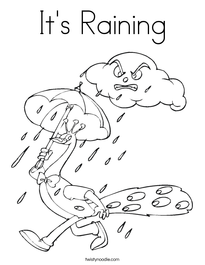 685x886 coloring pages of a rain storm