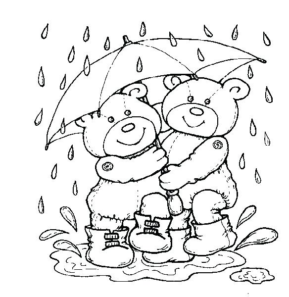 Rainy Day Drawing For Kid at GetDrawings.com | Free for personal use ...