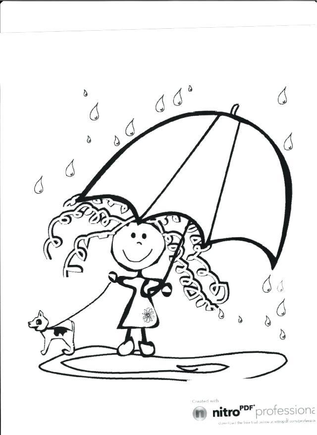 640x878 Entertaining Rainy Day Coloring Pages Fee For Kids 6 Free
