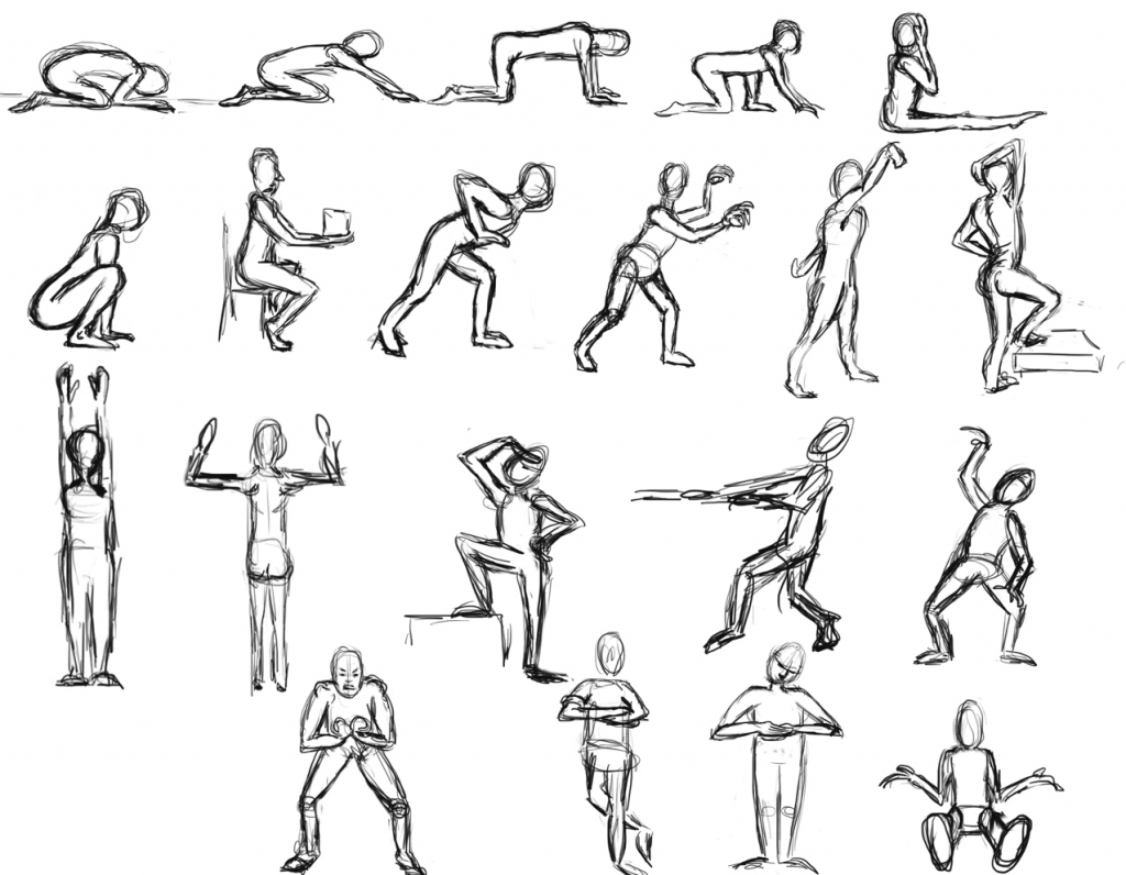 1024x796 Cartoon Figure Drawing More Like Anime Figure Drawing