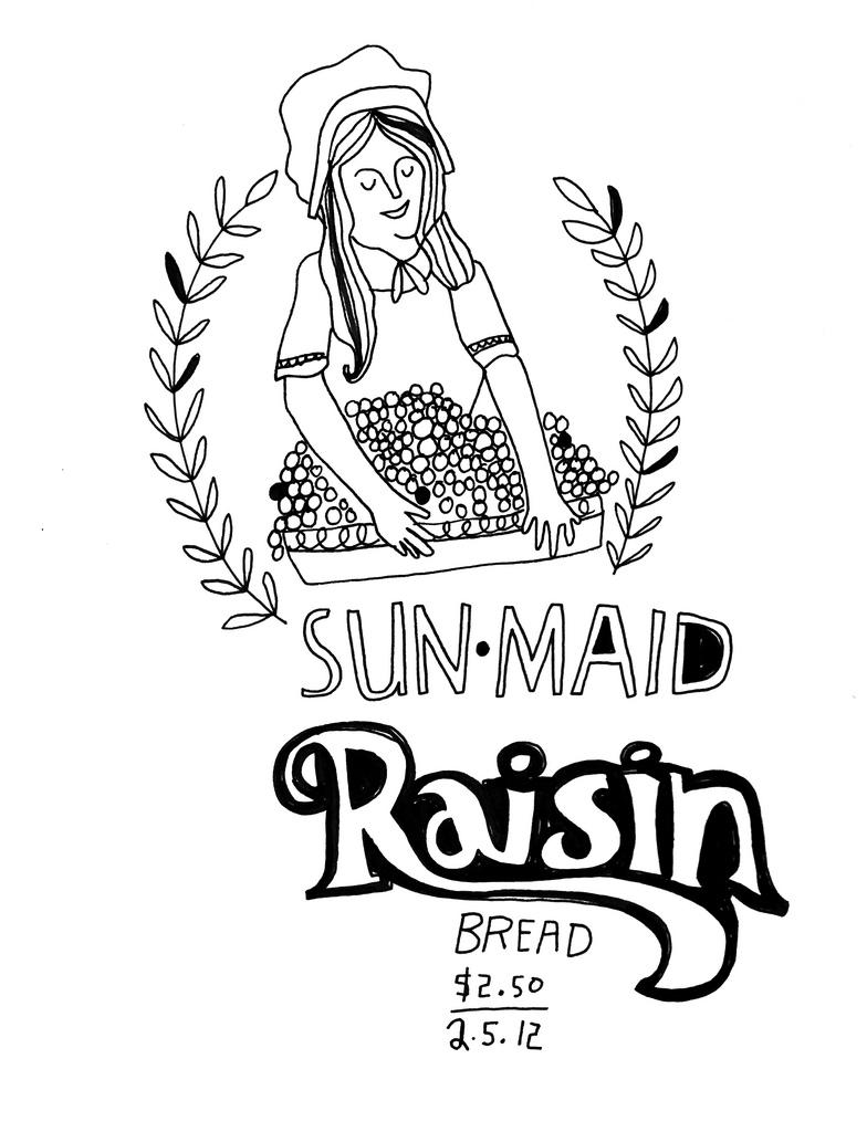 Raisin Drawing