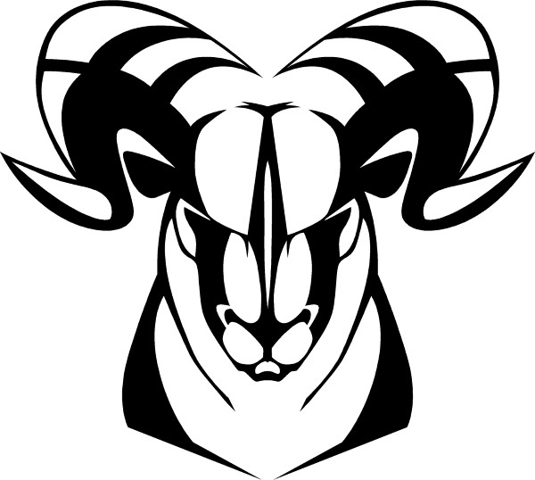 600x538 Ram Decal Ram Sticker 26