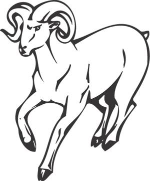300x361 Ram Animal, Animal Mascots, Am 036 Sgd