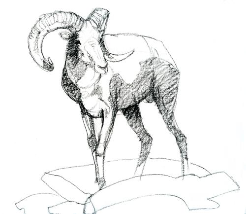 500x434 Ram Animal Drawing Hd Wallpapers On Astrology
