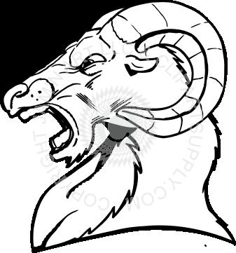 337x361 Mean Ram Head