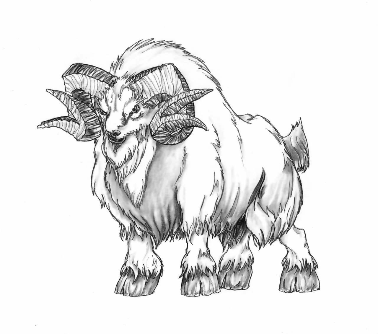 1280x1131 Dire Ram By Butterfrog