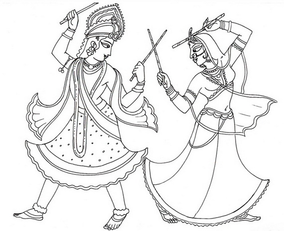570x464 Ram Navami Coloring Pages