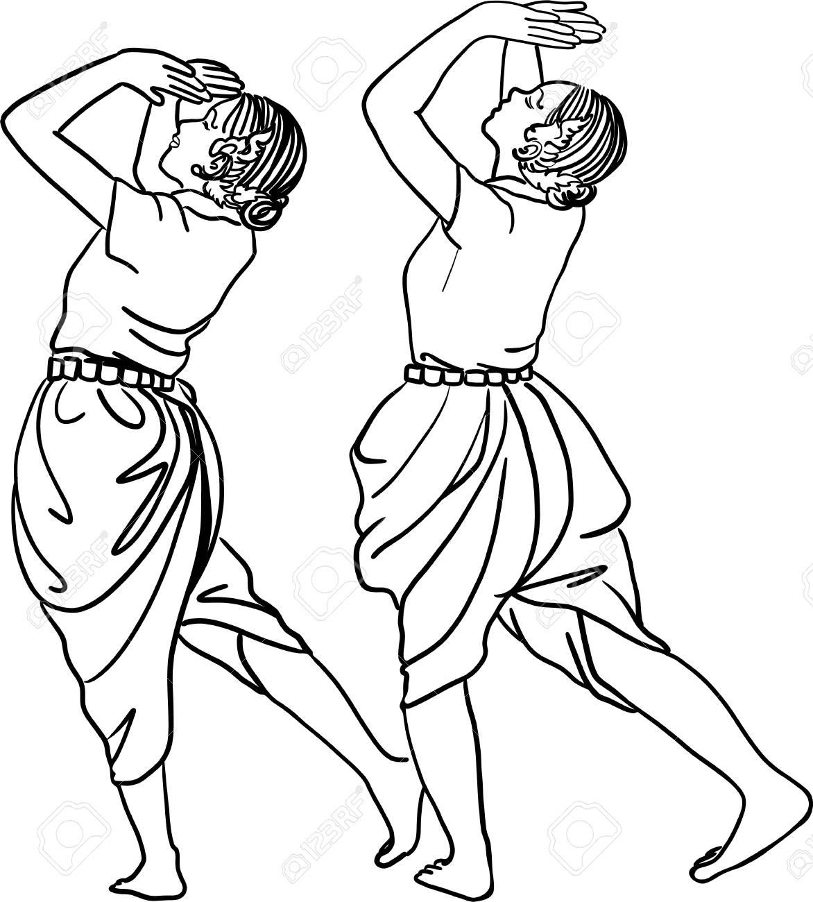 1172x1300 Art Drawing Of Thailand Dancing Art, Thai Classical Dance,(Ram
