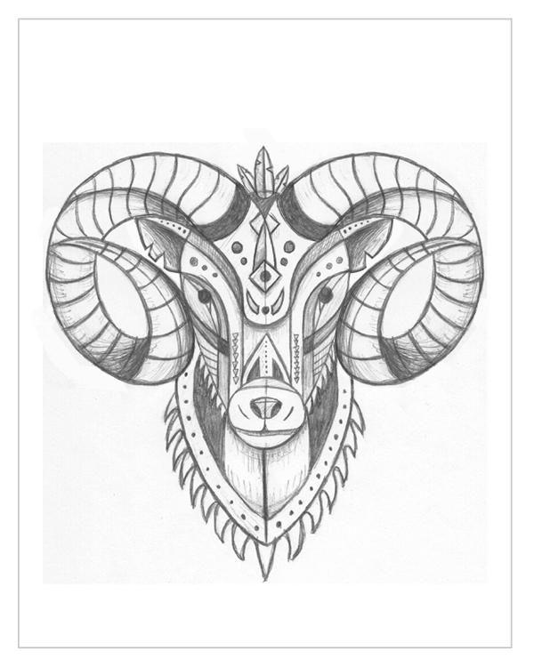 600x750 Best Geometric Tattoo Head Ideas On Geometric