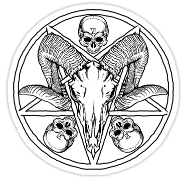 375x360 Pentagram Stickers By Zugart Redbubble