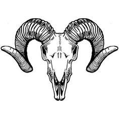 236x236 Aries Ram Head Skull Pentagram Tattoo Idea Tattoo Ideas