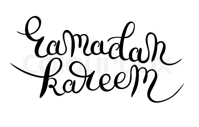 800x510 Decorative Lettering Design For Holy Month Of Muslim Community