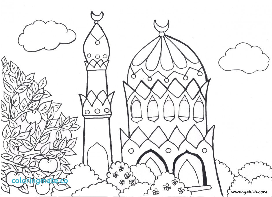 940x683 Ramadan Coloring Pages Fresh Islamic Word Colouring Pages 288221
