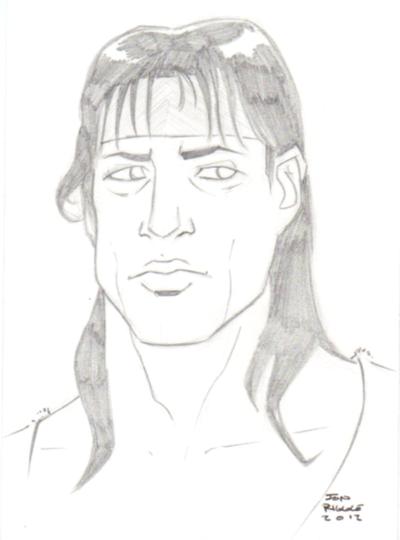 Rambo Drawing