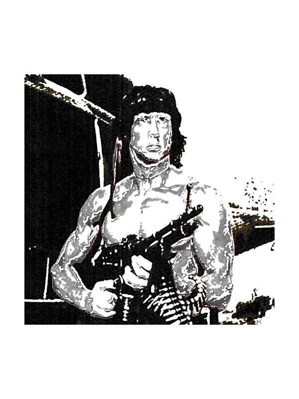 600x800 Rambo Stickers By Antsp35 Redbubble