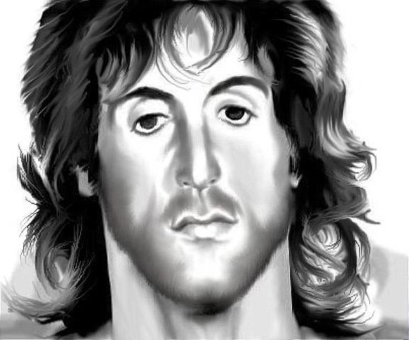 577x480 Rambo Drawing By Kaye Razo