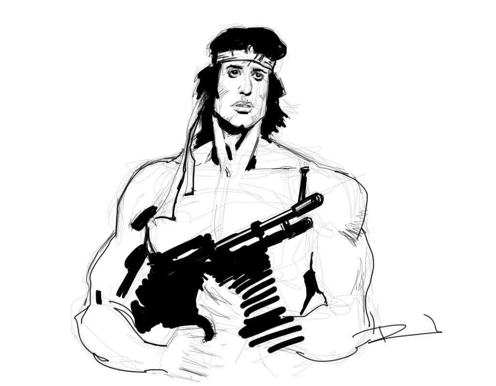 1024x797 Rambo Dsc By Rjn16