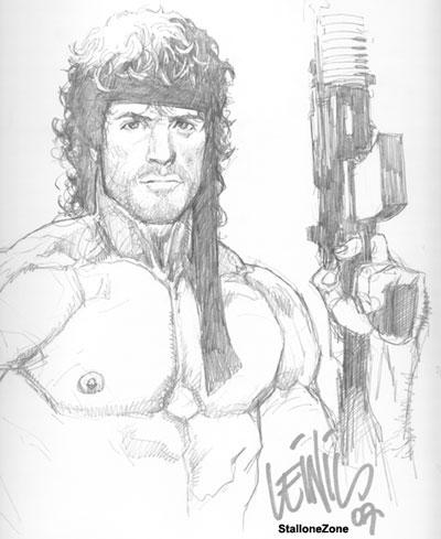 400x489 Yu, Lenil Rambo By Cjz