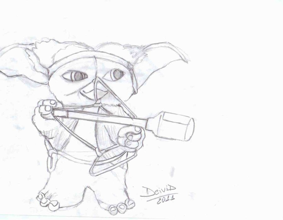 900x699 Gizmo Rambo By D31v1d