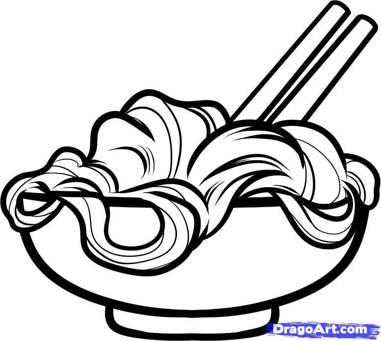 777x696 Noodle Bowl Clipart [Noodle Bowl Scrapbook] Noodle