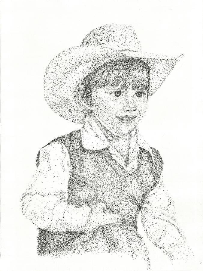 676x900 Ranch Hand Drawing By Mayhem Mediums