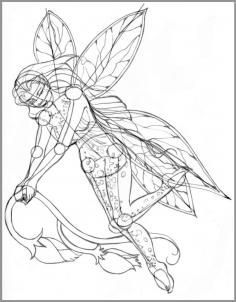 236x302 Fairy Design Tattoo Drawings Design And Fairies