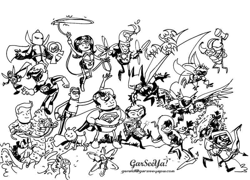 800x576 Garseeya!!! Random Lines. Dc Heroesvillains