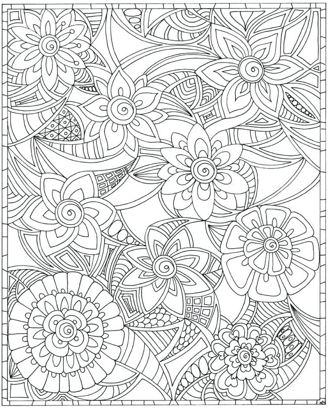 650x809 Marvellous Random Coloring Pages 54 For Line Drawings With Random