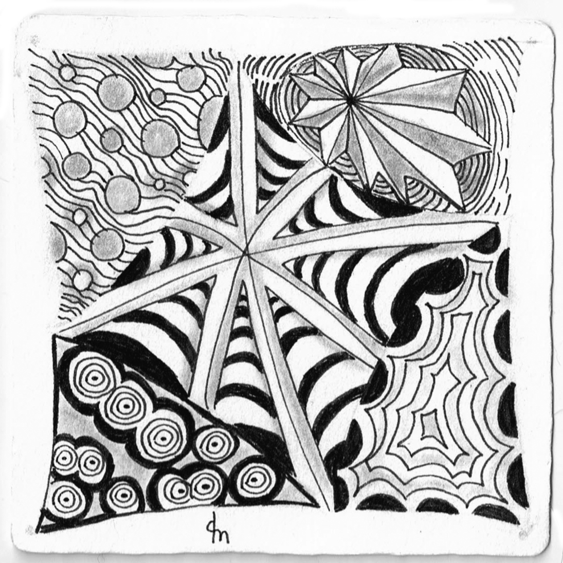 1095x1095 Random Acts Of Zentangle Once Upon A Tangle