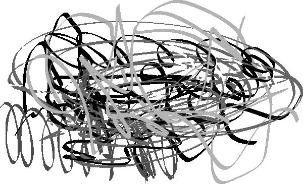 600x365 Random Lines And Noise Clip Art
