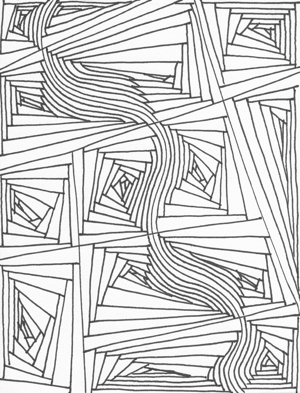 Random Line Drawing