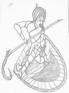 240x320 Random Sketch Linesays